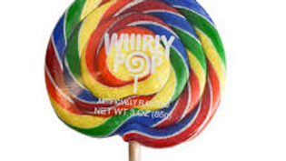 Rainbow Whirly Pop 3oz