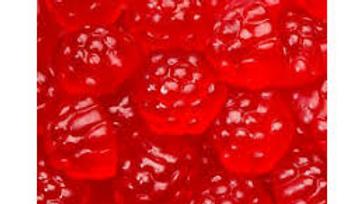 Gummy Red Raspberries 1/2lb