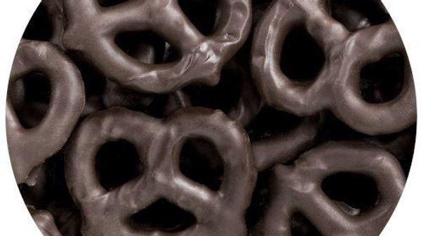 Dark Chocolate Pretzels 1/2 lb