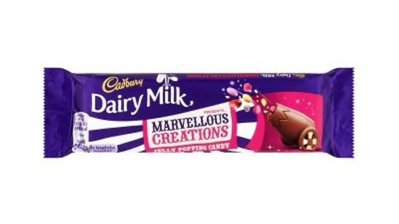 Cadbury Marvellous Creations Jelly Popping Candy Chocolate Bar