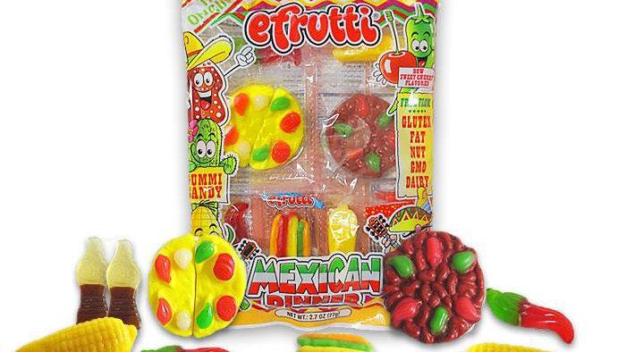 E-Frutti Gummi Mexican Dinner Tray