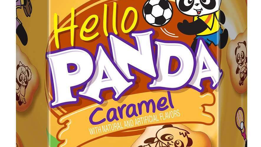 Meiji Hello Panda Caramel Cookie 2.1oz