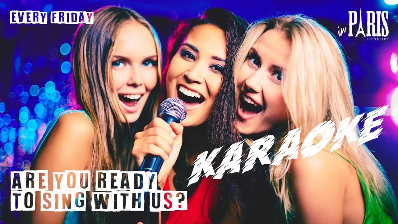 "KARAOKE NIGHTS at ""IN PARIS"" by Music Relations"