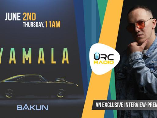 BAKUN презентує новий трек «Yamala»