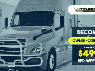 Антикризова пропозиція для CDL-A водіїв від компанії VL Trucking! Трак за $499 в тиждень...