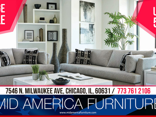 HUGE SALE from Mid America Furniture!Up to 50%!!!