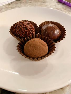 More Chocolate Truffles