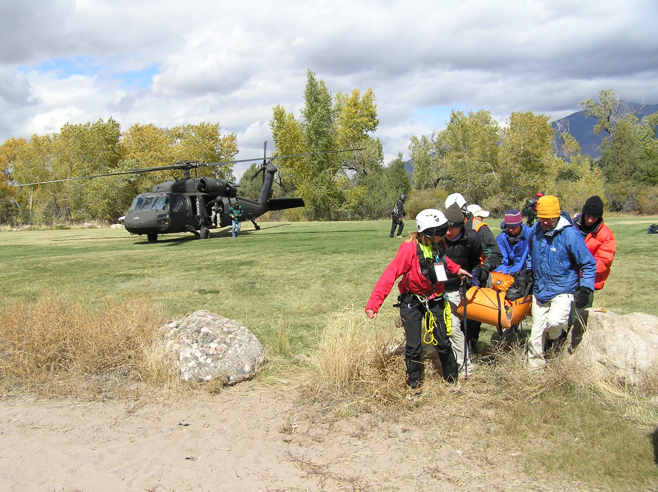 Rescue of Subject Oct. 4, 2009
