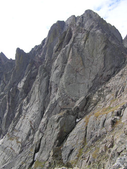 Crestone Peak from the Northeast