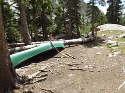 The Willow Lake Canoe