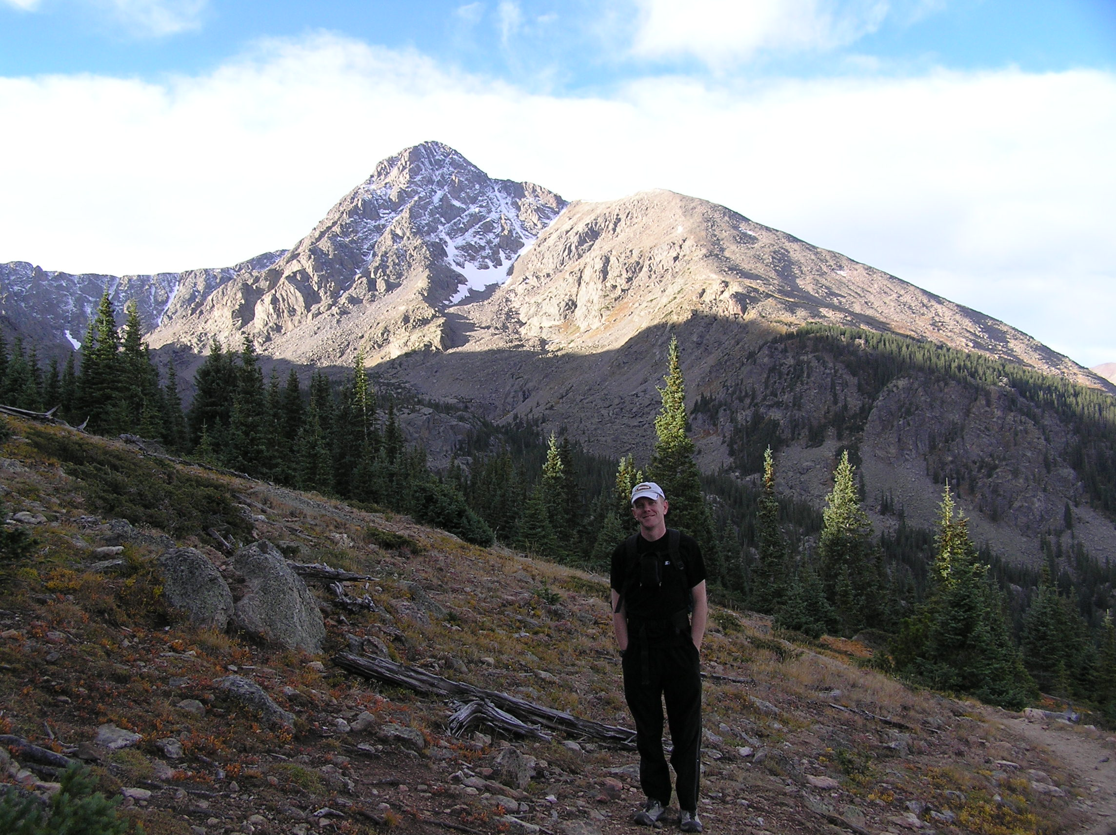 The Author and Mt. Holy Cross