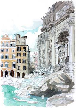 Trevi Fountain Rome.JPG