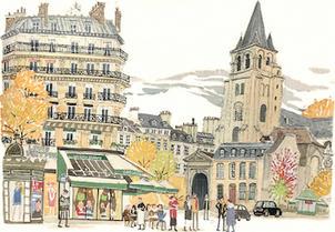Saint Germain de Pres, Paris