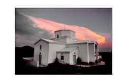 Church. Santa Fe, New Mexico
