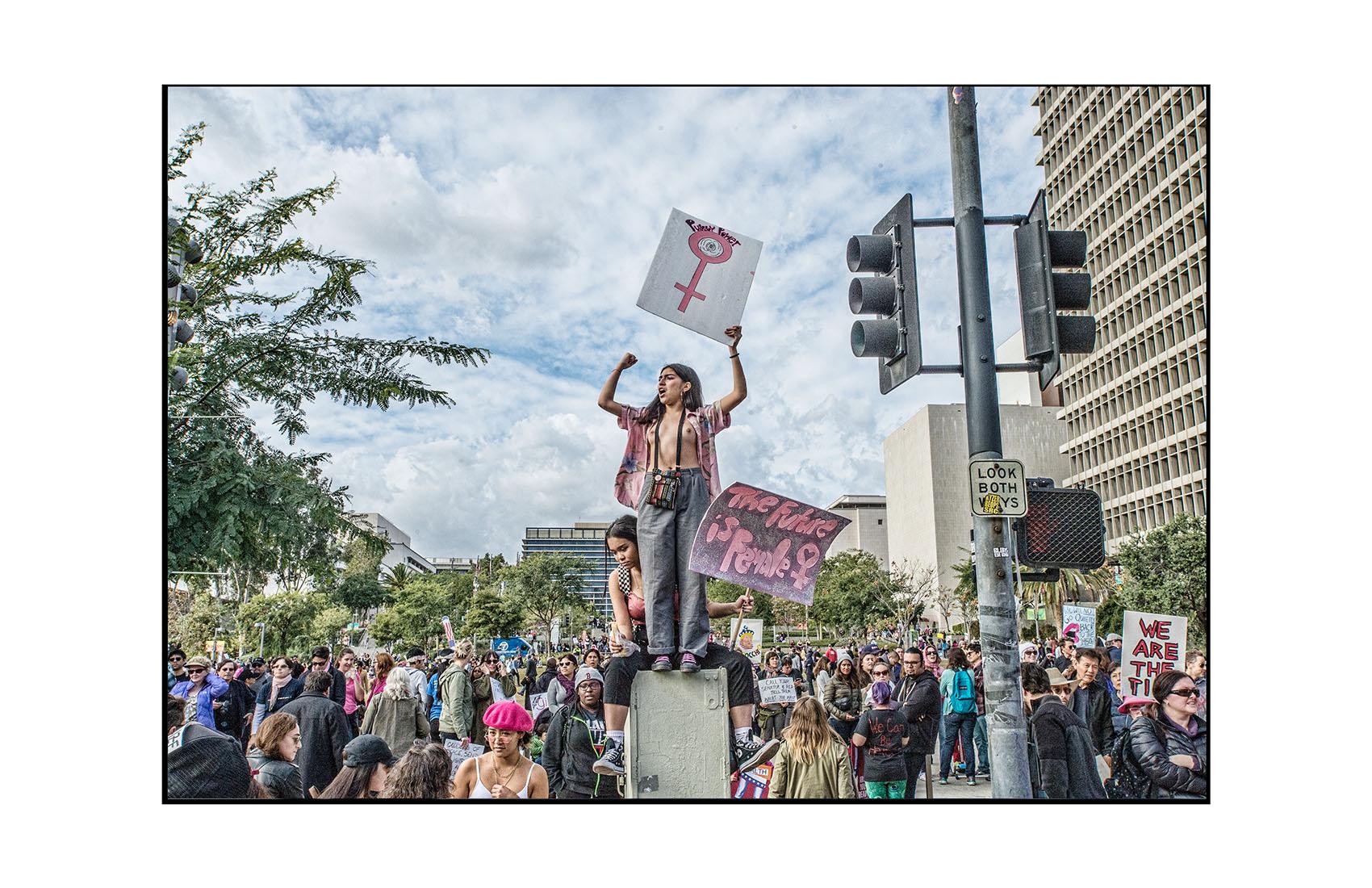 Women's March Los Angeles, CA. 2017