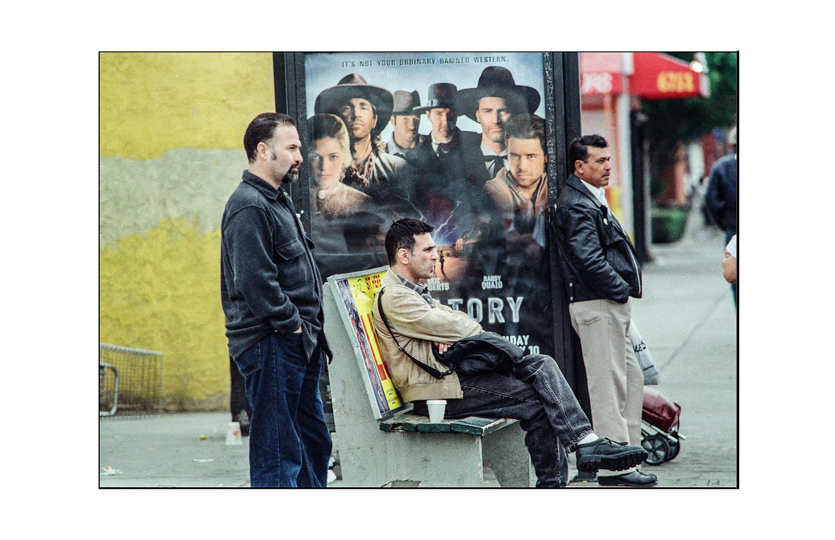 Cowboy Bus Stop