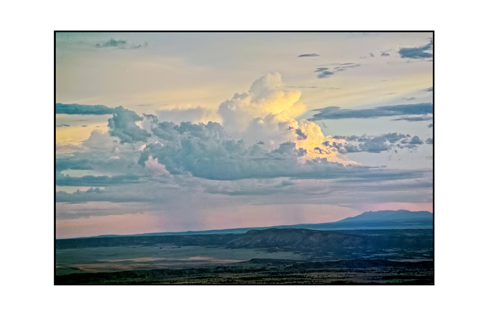 Sunset. Galisteo Basin, NM