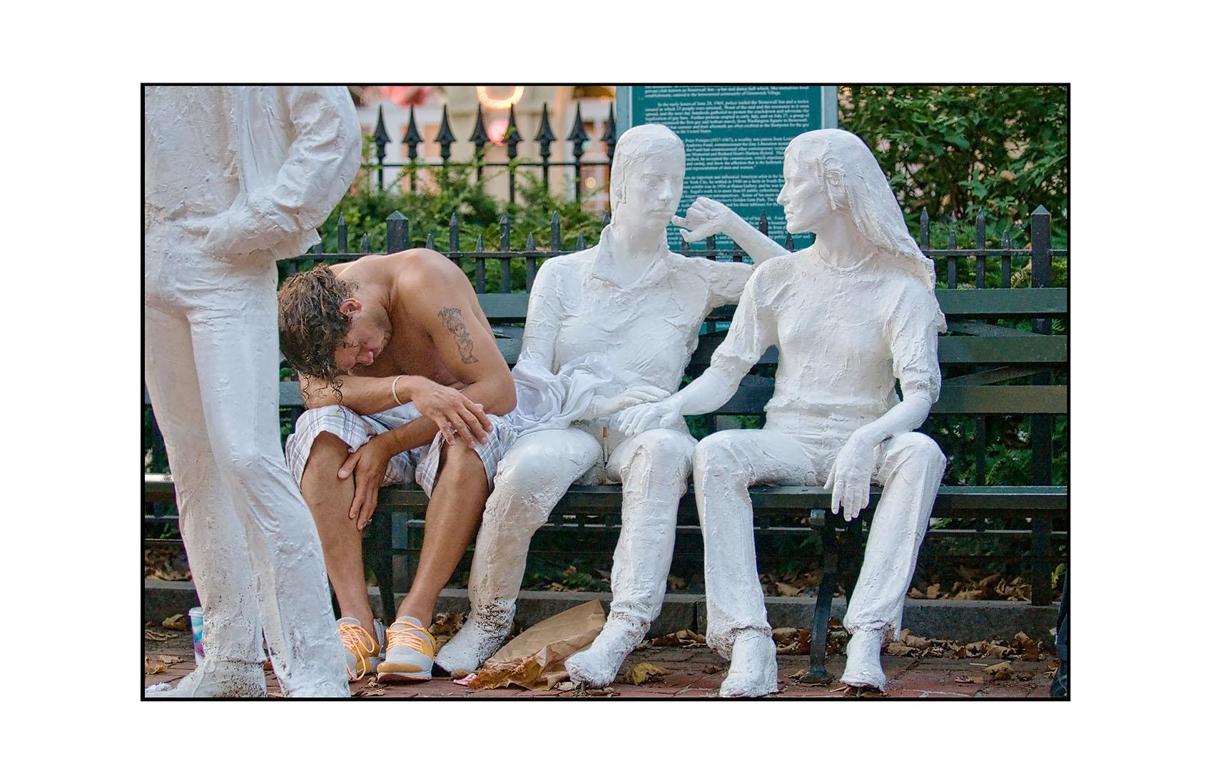 Christopher Park, Greenwich Village,