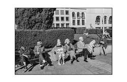 Union Square, San Francisco. 1971