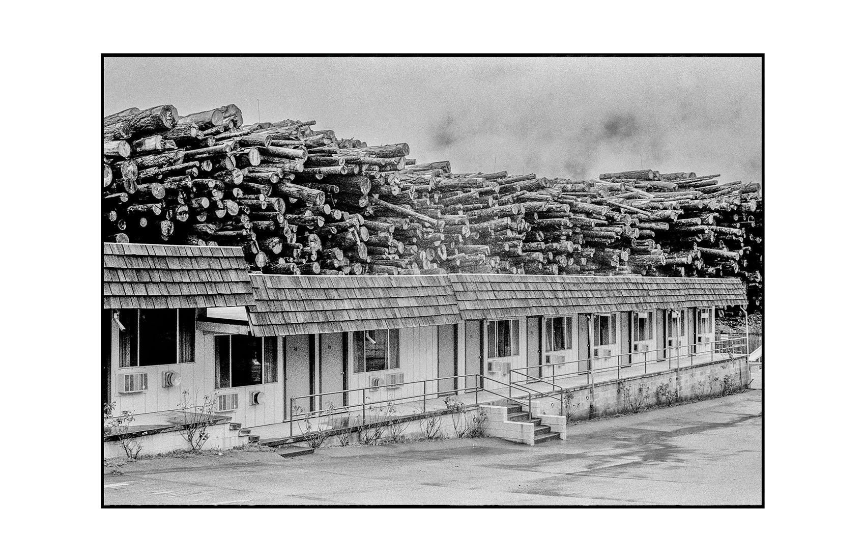 Log Motel. Northern, CA