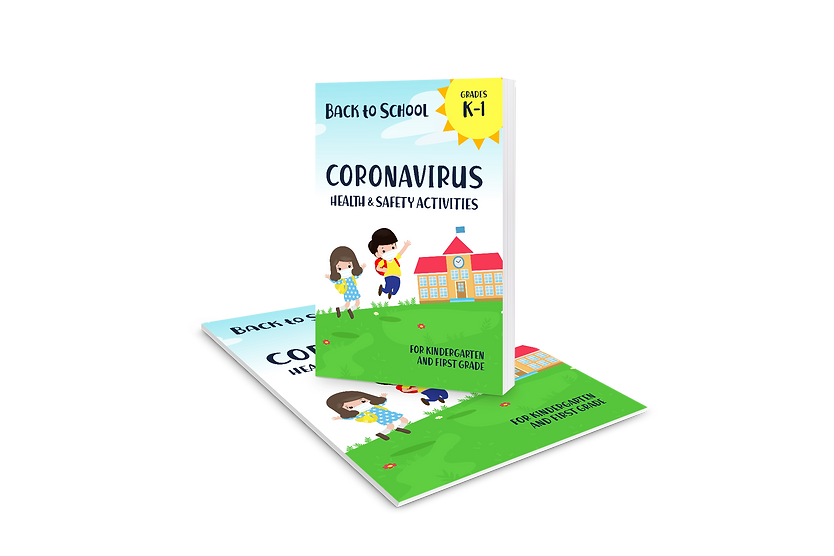 Coronavirus health and safety activity book for kids 1