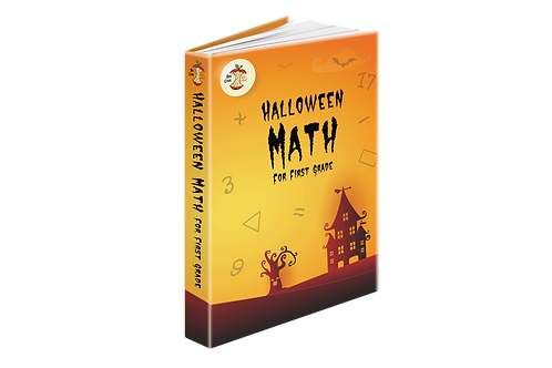 Halloween Math for First Grade - Digital Download Printable