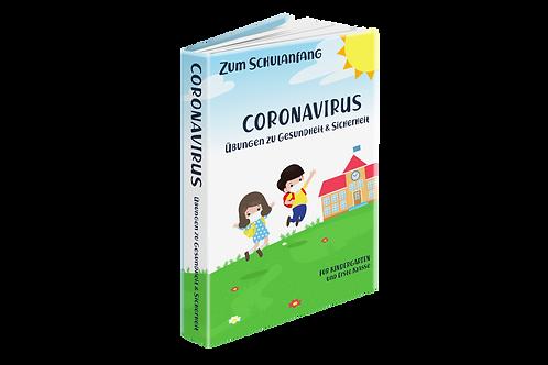 Zum Schulanfang Coronavirus Übungen zu Gesundheit & Sicherheit (KG + 1. Klasse)