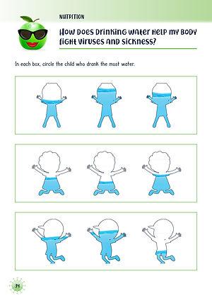 Coronavirus nutrition for kindergarten and first grade