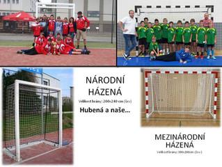 Házená vs. Handball