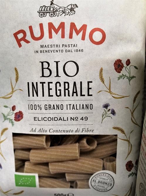 Pâtes sèches de semoule complète blé dur biologique Elicoidali N°49