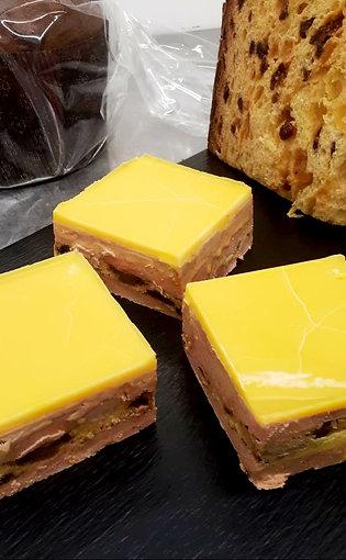 Foie gras de canard maison au panettone - 40 g