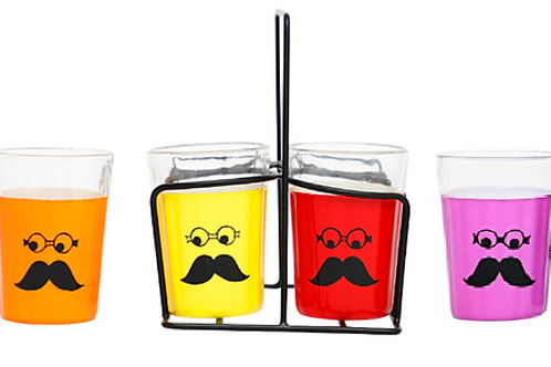 Chasme Baddoor Tapri Glasses (Set of 4 glasses)
