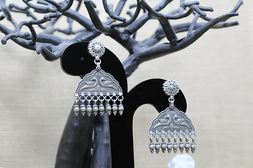 925 Silver hallmarked handcrafted collection - earrings