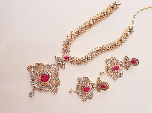 Antique Traditional design AD necklace