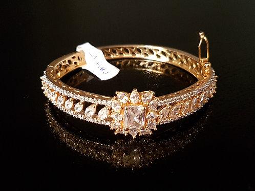 CZ diamonds Bracelet  (openable)