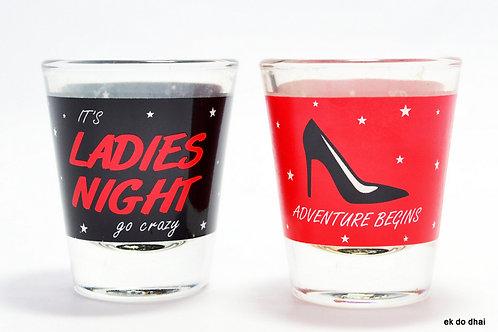Ladies Night Shot Glasses