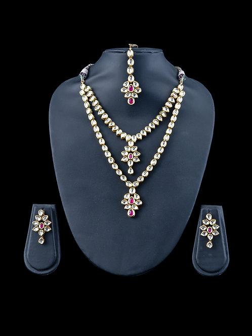 Kundan - Two layered Necklace