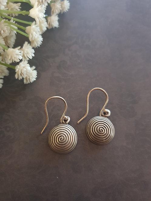 Delicate 925 silver earrings