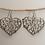 Thumbnail: German silver earrings