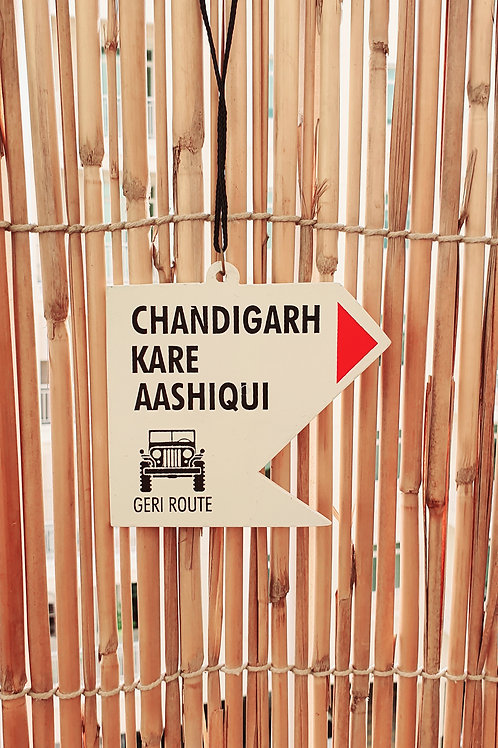 Chandigarh Kare Aashiqui Car Hanging