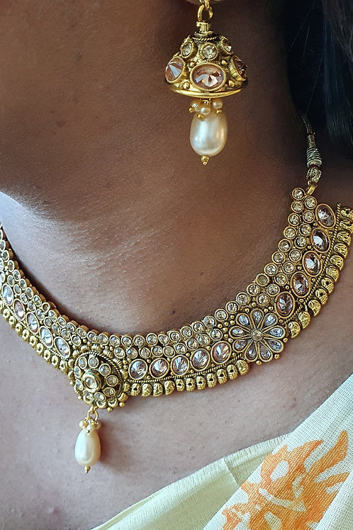 Choker set with Maang Tikka