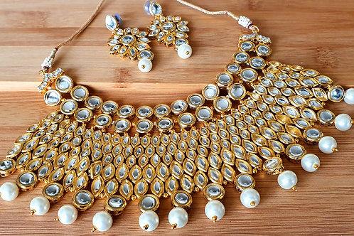 Kundan Necklace - Choker