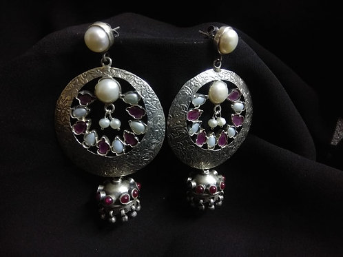 925 Silver hallmarked hardcrafted collection - earrings