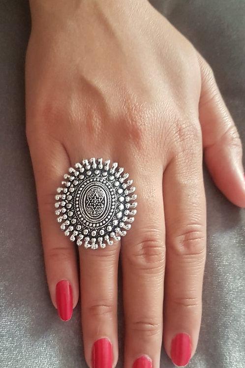 Finger Ring - Rangoli