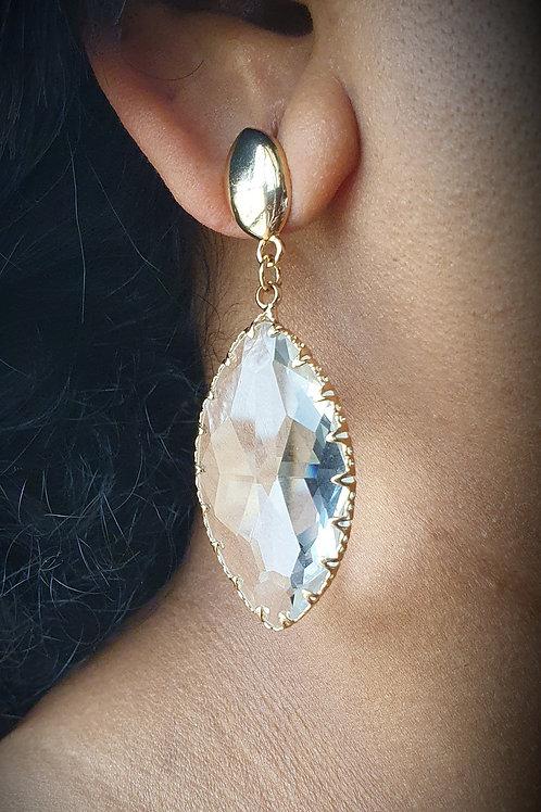 Swarovsky Element earrings - Drop