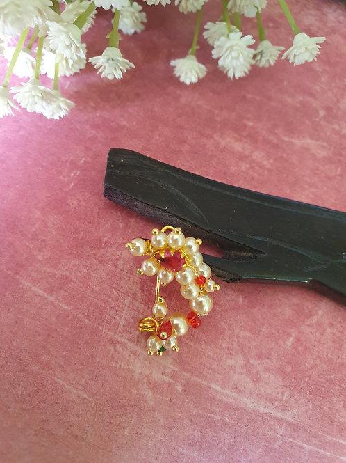 Maharashtrian Traditional nath/nosepin Clipon