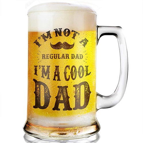 Cool Dad  Beer Glass