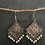 Thumbnail: German silver earrings