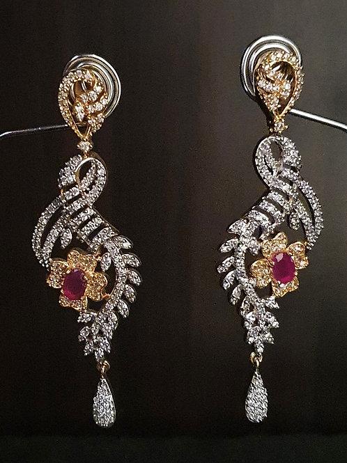 CZ earrings