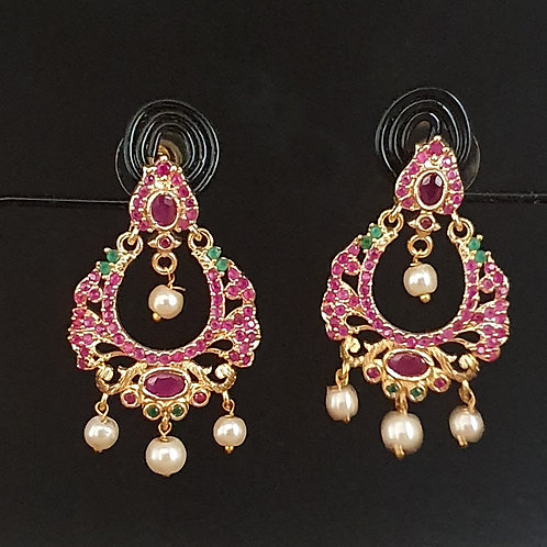 Traditional South design earrings